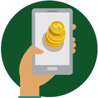 Indbetaling till online casinoer