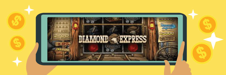 Diamond Express spillemaskinen
